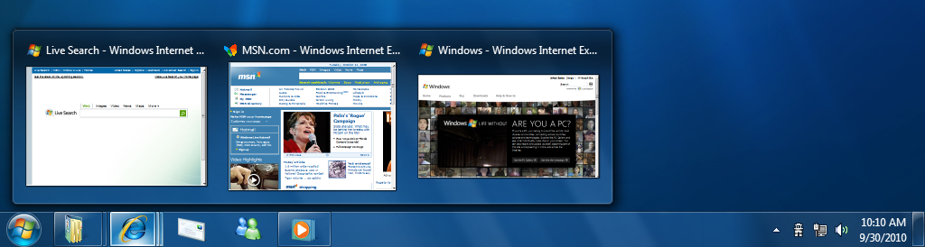 New Windows 7 Taskbar and Start  Menu