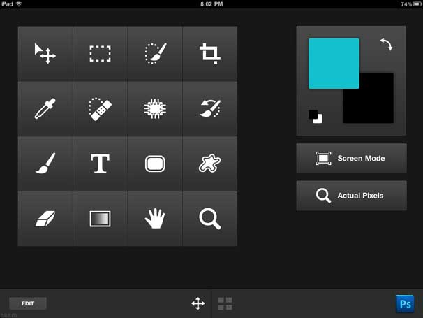 Nav lets you build custom tool palettes for Photoshop CS5, as well as preview open images remotely.