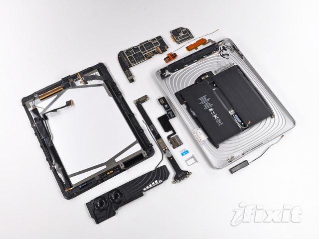 iPad 3G teardown by iFixit