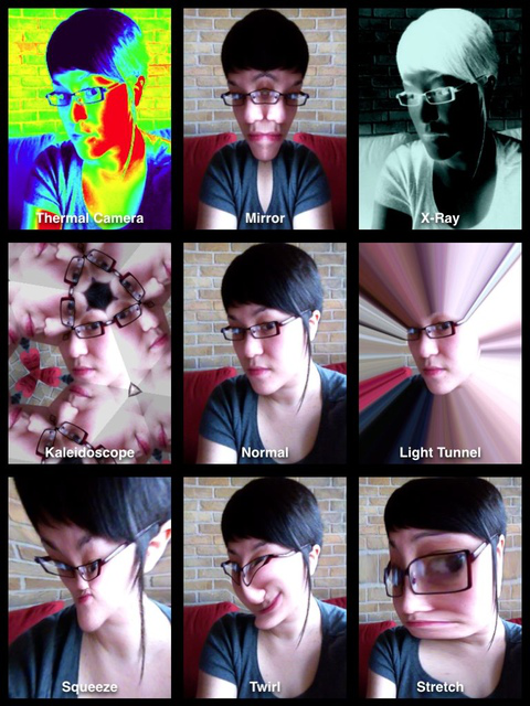 If silly photos are your thing, then Photo Booth is for you.
