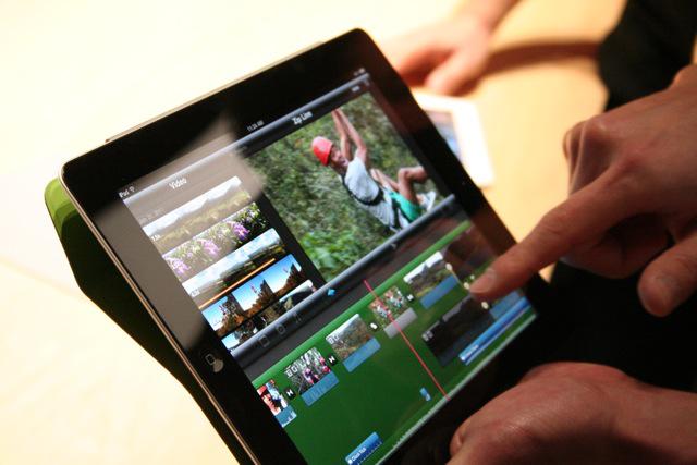 The black iPad 2