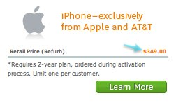 Come and get your red-hot refurbed iPhones, right here!