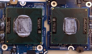 Merom vs Penryn: Size Does Matter. Image by AnandTech.