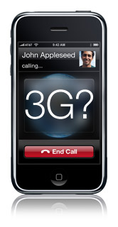 Infinite Loop's official iPhone 3G Rumor photo illustration