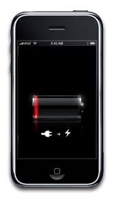 Hate seeing this screen? Try a rechargeable battery pack.