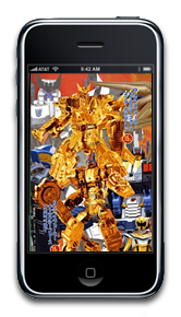 iPhone 2.0 firmware will go golden master soon, but Megatron already beat it to the punch.