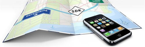 The official iPhone SDK was released today by Apple.