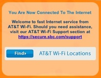 AT&T Wi-Fi hotspots are being installed in Starbucks across the country.