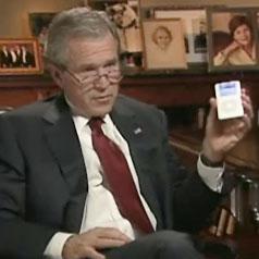 Bush has an iPod