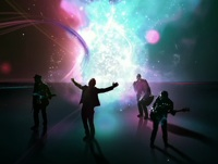 Apple reuses sets from Star Trek TNG for latest iTunes ad.