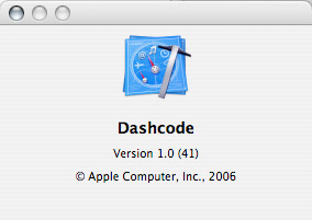 About Dashcode