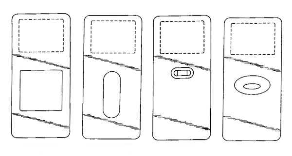 iPod designs drawings
