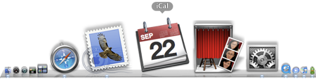 Leopard iCal Dock Icon