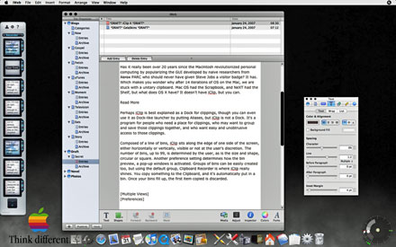iClip and Desktop