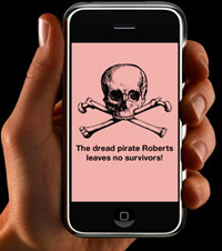"""The so-called """"Pink Screen of Death"""" signifies expired beta firmware."""