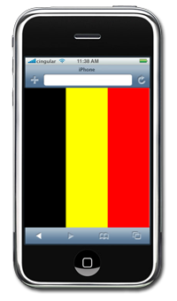 3G iPhones may also be on their way to Belgium this summer.