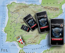 A phalanx of iPhones swoop down over Europe, this time towards Spain.