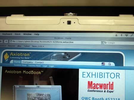 ModBook iSight