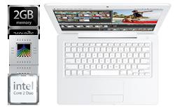 New white MacBook