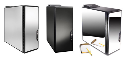Psystar's OpenPro computer can be configured with three different cases.