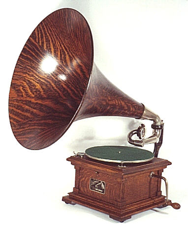 old-school phonograph