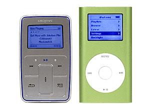 Zen vs iPod