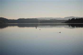 Lake Mencodino in Calpella, California