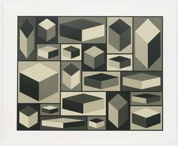 "LeWitt's ""Distorted Cubes"""