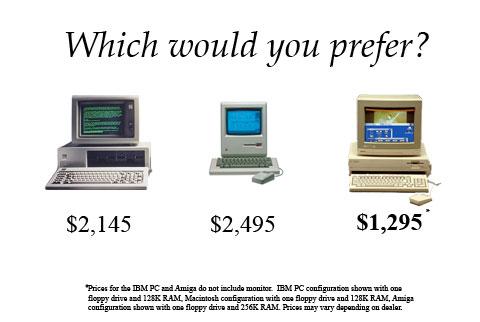 An Amiga ad from an alternate history.