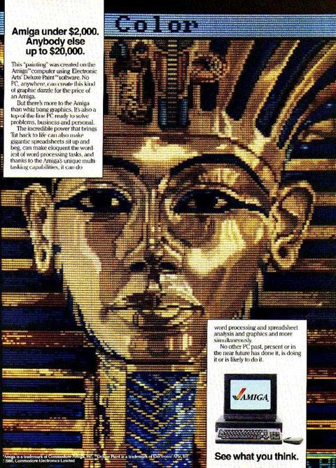Commodore Amiga Ad circa 1986