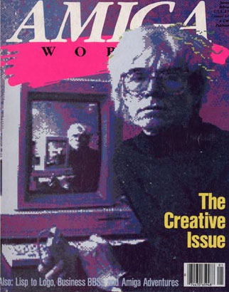 Andy Warhol interview in Amigaworld