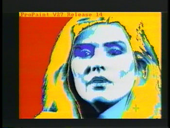 Debbie Harry on Amiga