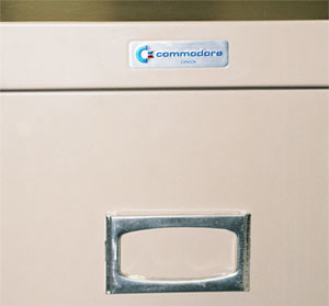 Commodore filing cabinet
