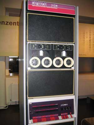 DEC PDP 11 with Dectape