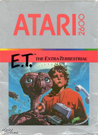 E.T. The Extra Terrestrial for Atari 2600