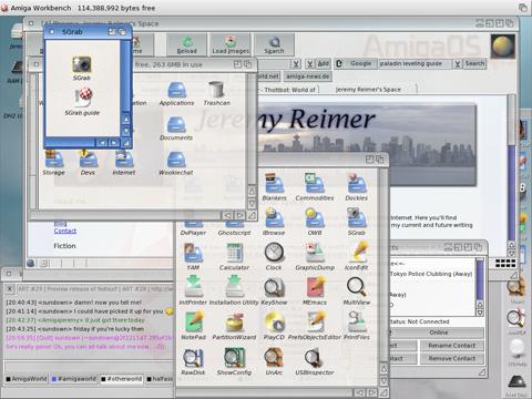 OS 4.1 desktop