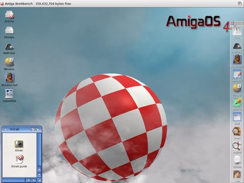 OS 4.1 default desktop