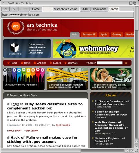 OS 4.1 OWB