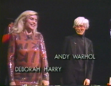 Andy and Debbie Harry