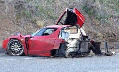 Eriksson's car.