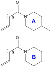 Chemicals A and B
