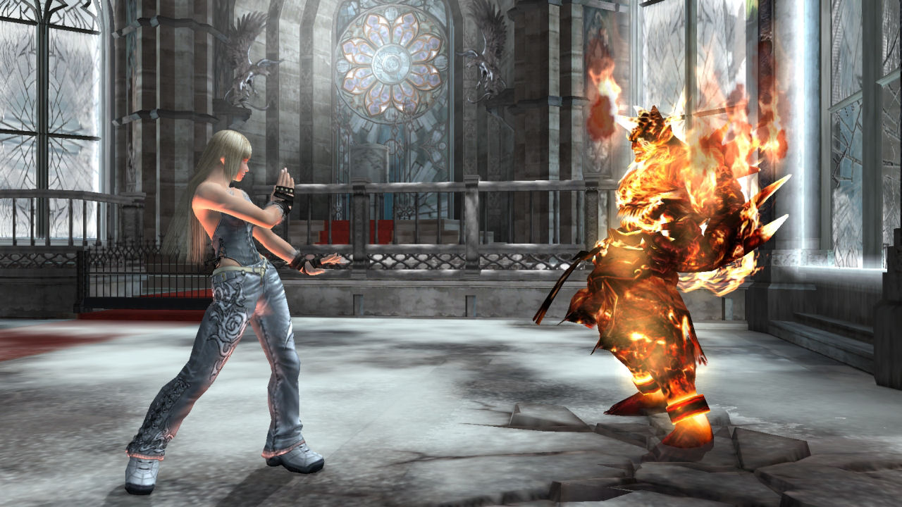 Game Review Tekken Dark Resurrection Ps3 Ars Technica