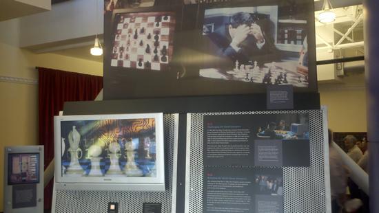 Kasparov vs Deep Blue at the Computer History Museum