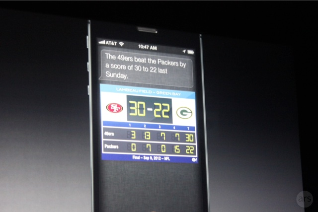 Apple trolled Packers fans during the iPhone launch event.