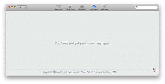 If you installed apps outside of the MAS, it may not list them as purchases.