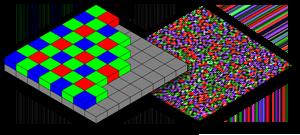 color image mosaic patterns