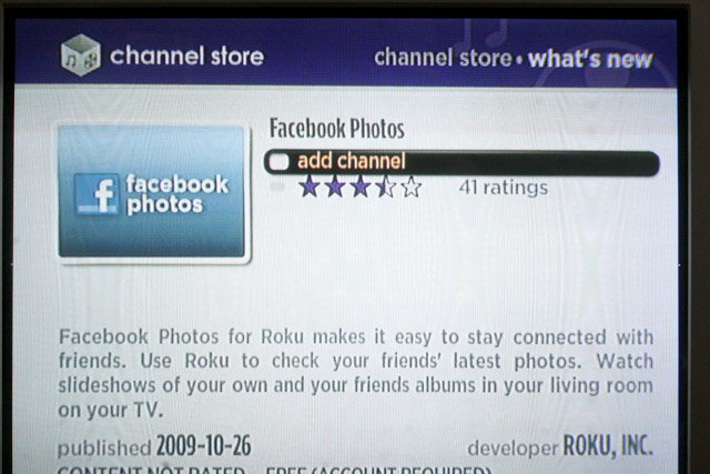 adding a channel to your Roku