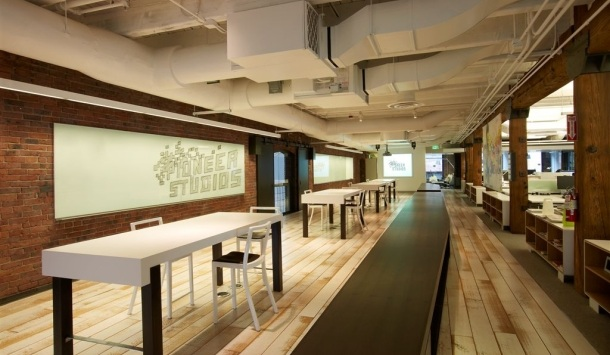 Pioneer Studios' swanky Seattle offices