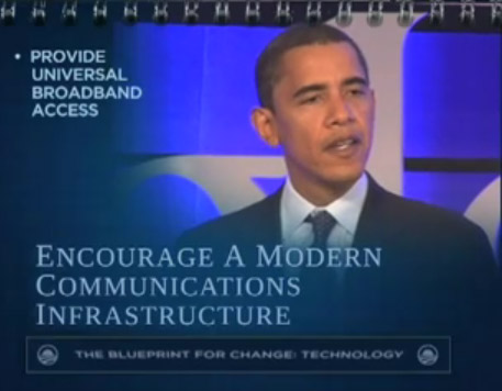 Obama lays out his tech platform