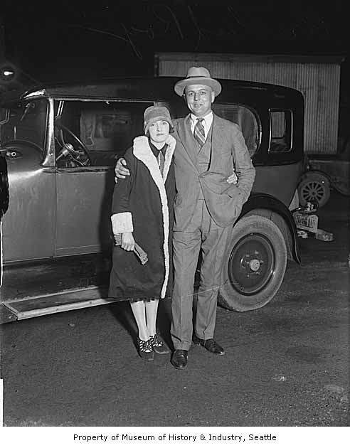 Roy Olmstead and his wife Elise